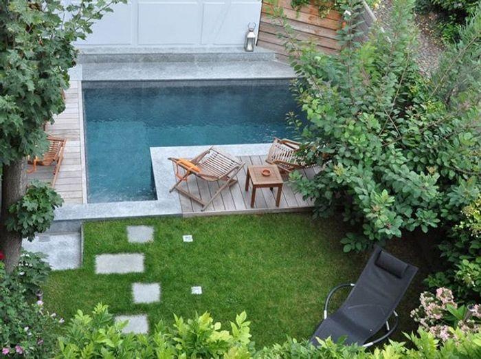 Une piscine pour tous les styles elle d coration for Tous pour le jardin