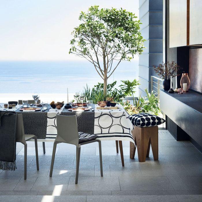 Une jolie table outdoor