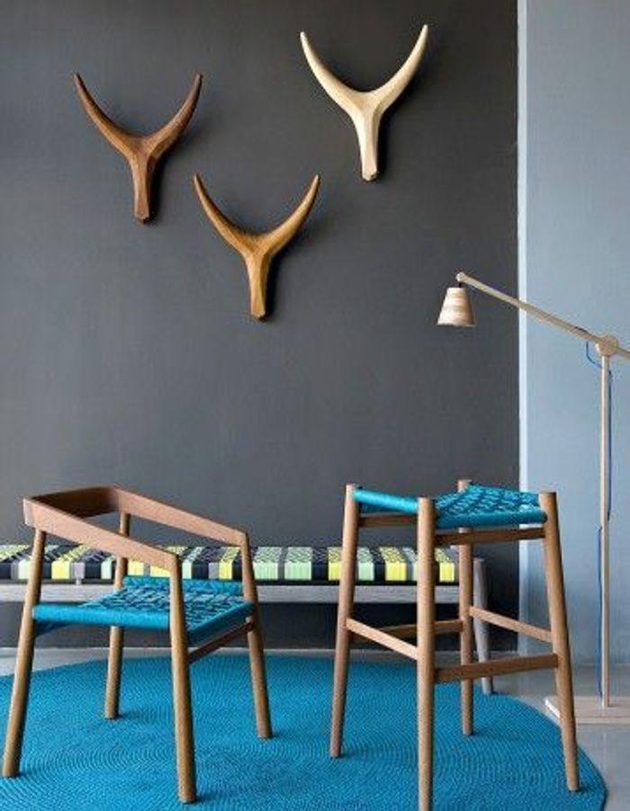 Des trophées Nguni du studio de design Vogel basé à Cape Town