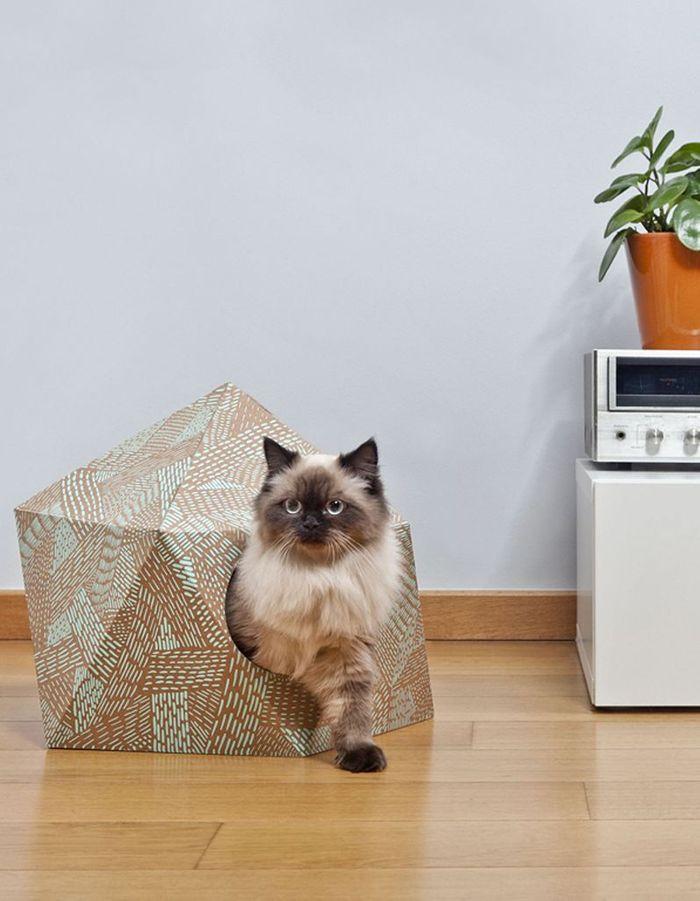 Niche pour animal Catcube