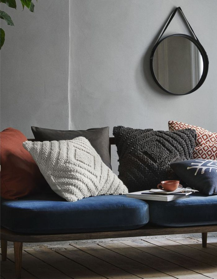 Housse de coussin texturée H&M Home