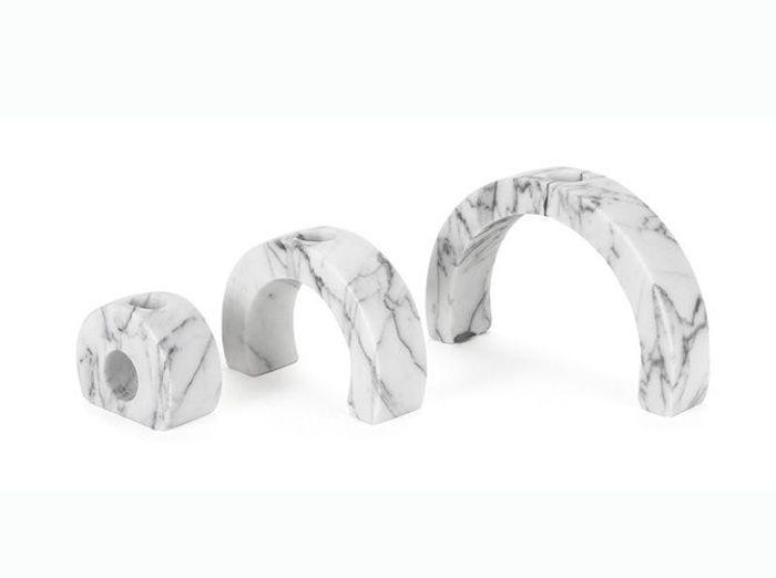 Photophores en marbre