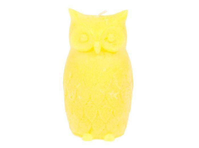 Deco jaune bougie