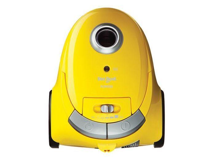 Deco jaune aspirateur