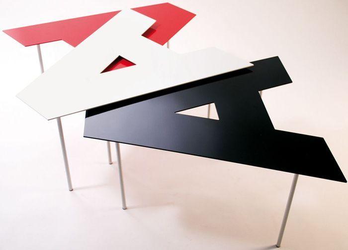 Table alphabet Outdoorz Gallery