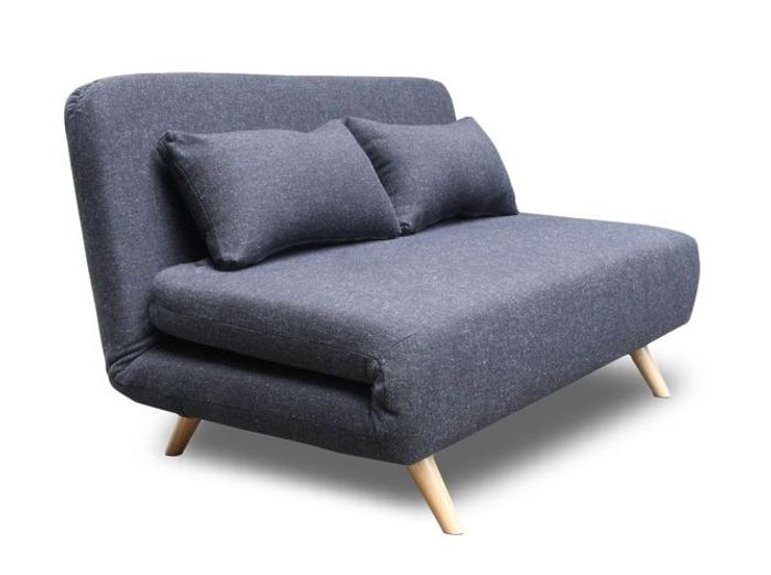 Canape convertible design Scandinave