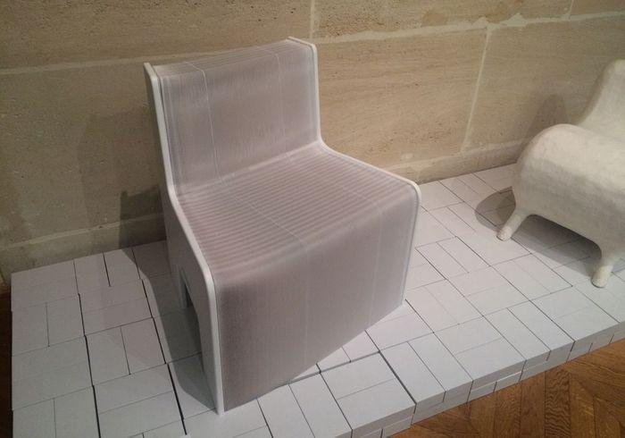 """Le fauteuil de FlexibleLove pour l'expo """"Taiwan - Unfolding"""""""