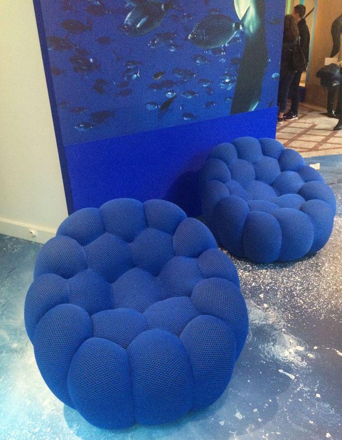 Le fauteuil de Sacha Lakic chez Roche Bobois