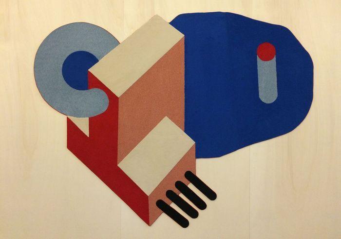 Le tapis de Sylvain Debelfort édité par ESAD Reims x Bernard Chauveau Edition