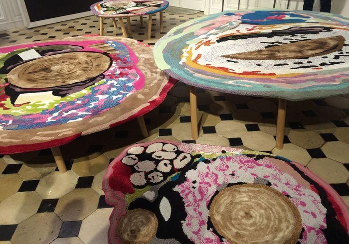 Les tapis de Chen Chen & Kai Williams chez Tai Ping