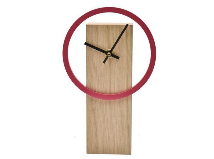 Horloge bois Drugeot Labo