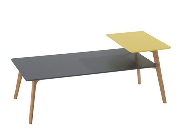 L 39 objet d co du jour la table basse fly elle d coration - Table basse deux plateaux ...