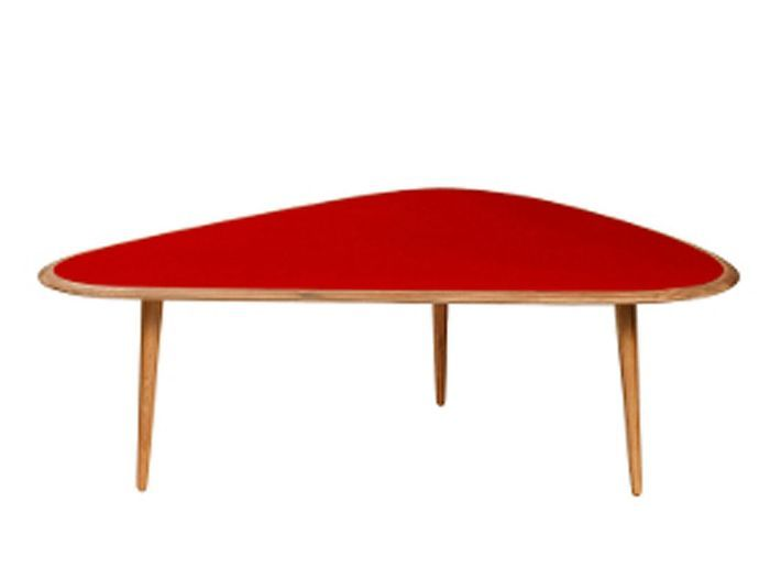 Great table fifties red edition with table ronde magique - Table ronde extensible magique ...