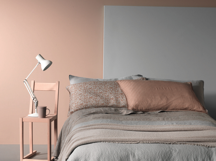 chambrepastelgrise - Chambre Rose Pastel