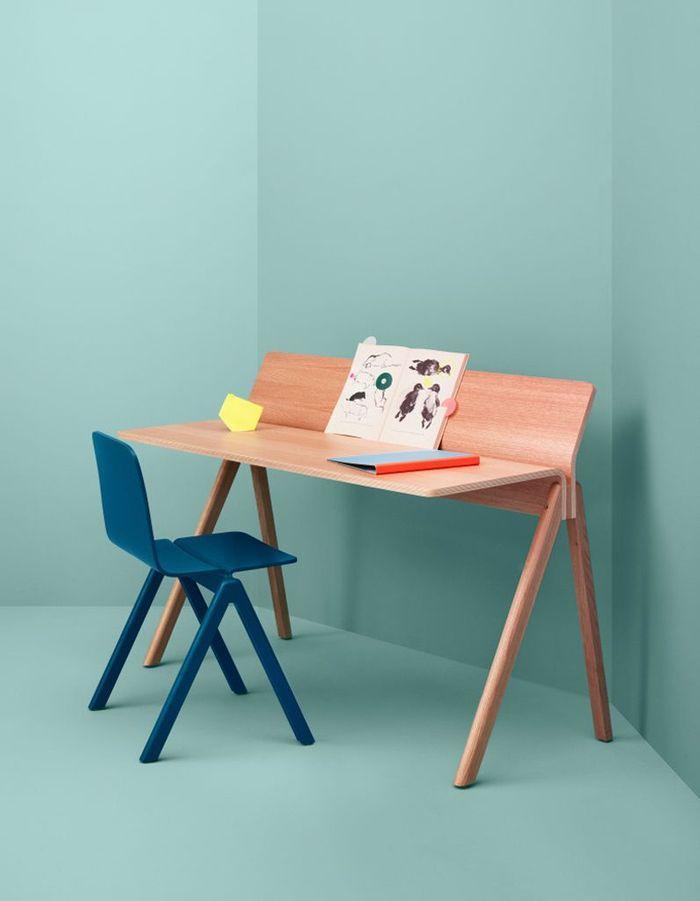 Bureau enfant d couvrez notre s lection styl e elle for Bureau en bois pour enfant
