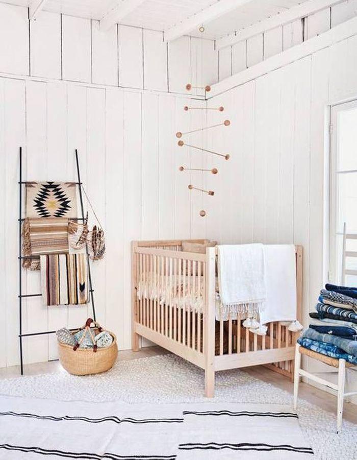 Une chambre de bébé pour voyager