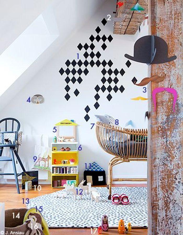 Pour un bébé : une chambre toute douce