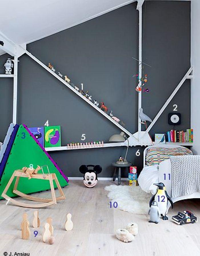 Pour un petit gars : une chambre de héros