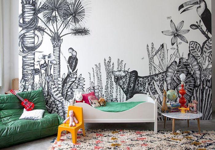 les 30 plus belles chambres de petites filles elle d coration. Black Bedroom Furniture Sets. Home Design Ideas