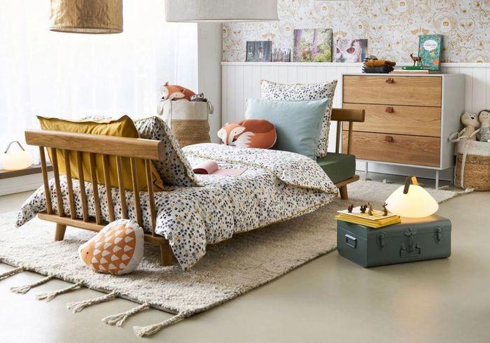 Parure de lit enfant tous les mod les pour une chambre for Decoration pour lit