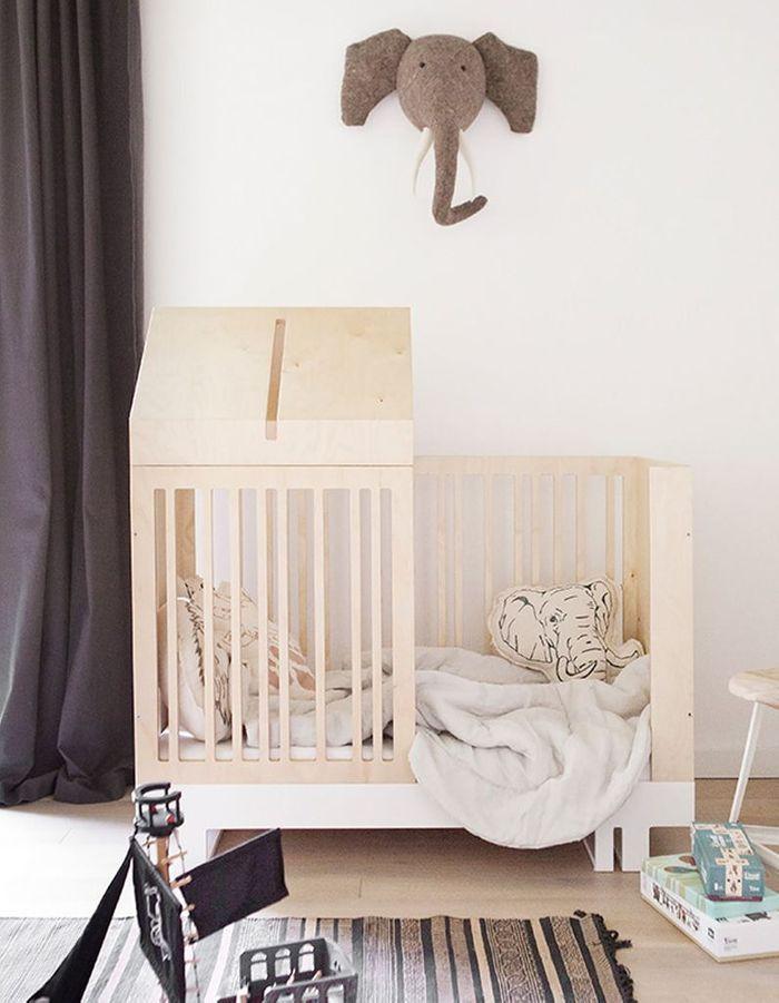 Un lit cabane pour les tout-petits