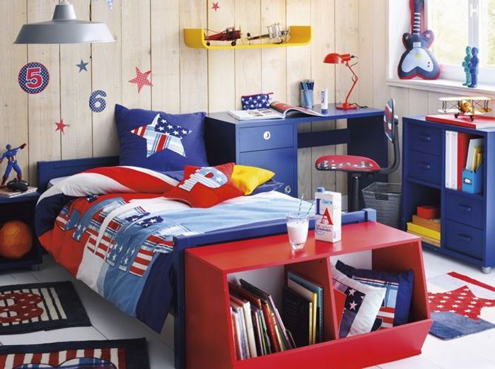 Chambres de gar on 40 super id es d co elle d coration - Deco chambre super heros ...