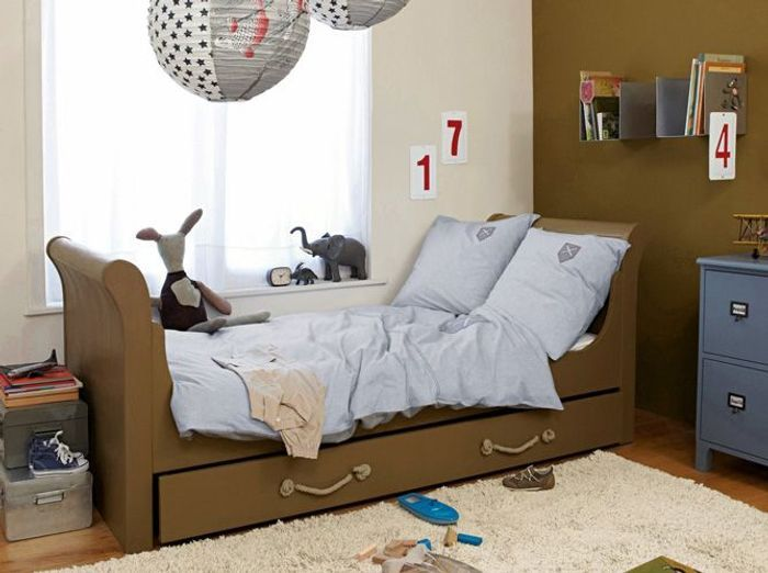 Chambres de gar on 40 super id es d co elle d coration for Deco chambre simple
