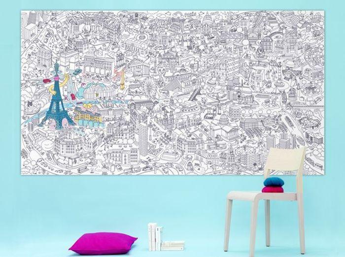 le coloriage gant - Coloriage Decoration Dune Chambre De Bebe