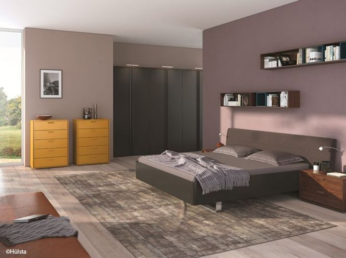 id e d co une touche de couleur dans votre chambre. Black Bedroom Furniture Sets. Home Design Ideas