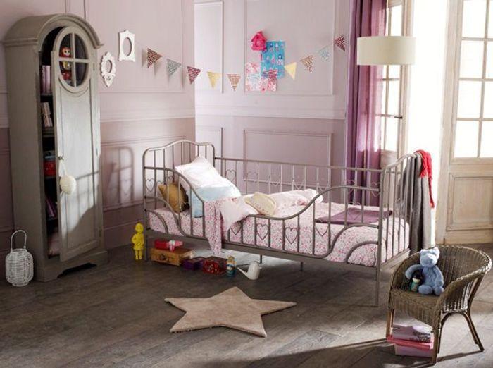 Beautiful Chambre Vintage Petite Fille Contemporary - Matkin.info ...