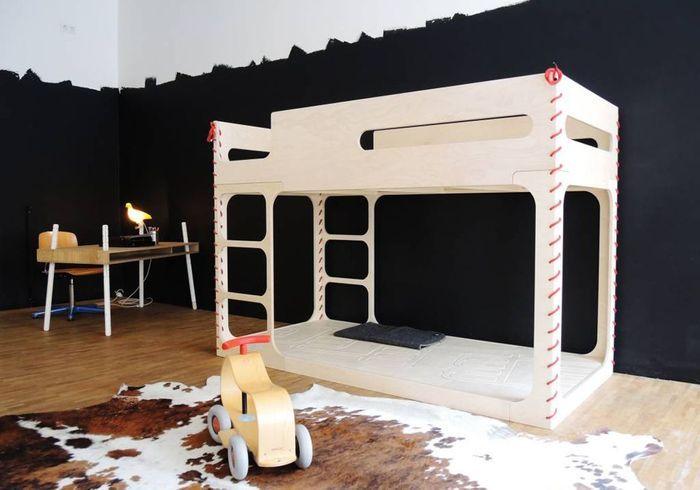 Chambre ado fille avec lit mezzanine enfin une chambre du0027ado de ouf par - Lit mezzanine moderne ...