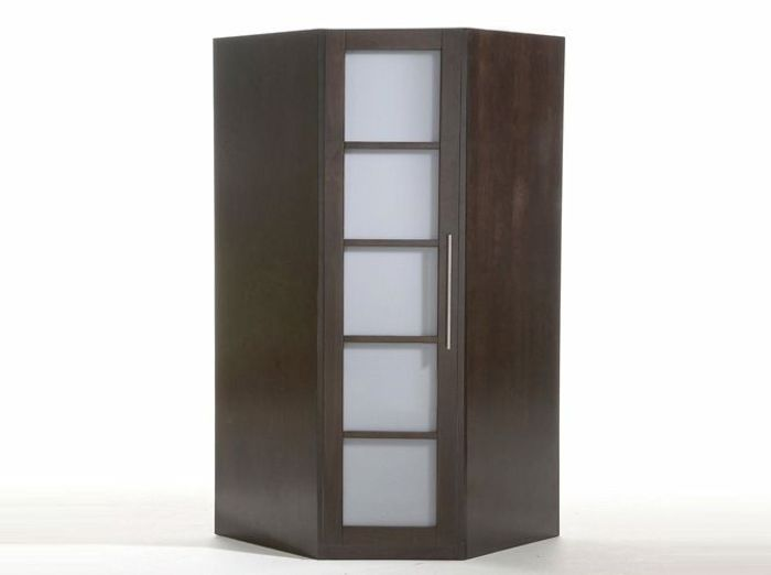 armoire dressing angle. Black Bedroom Furniture Sets. Home Design Ideas