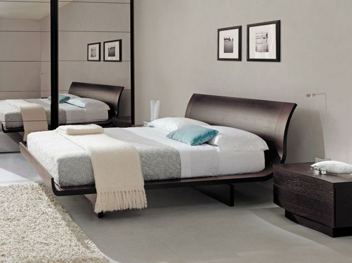 20 lits design pour une chambre moderne elle d coration. Black Bedroom Furniture Sets. Home Design Ideas