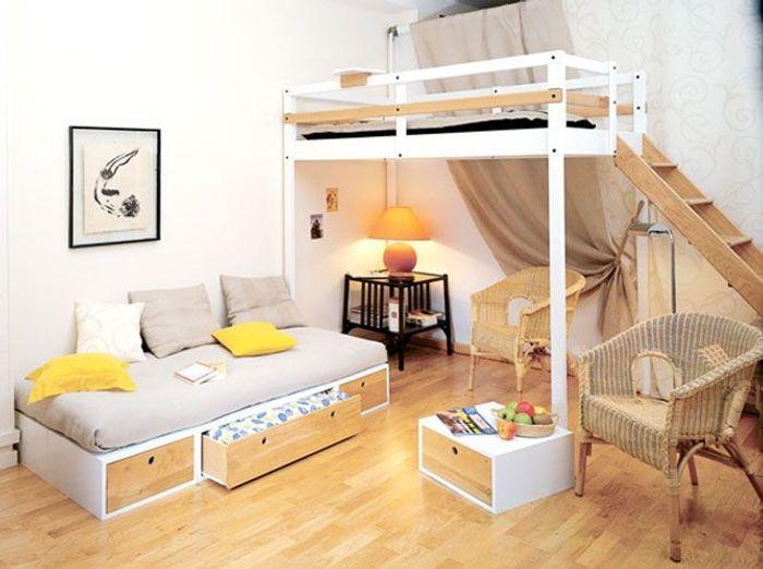 lits mezzanine prenez de la hauteur - Mezzanine Chambre Hauteur