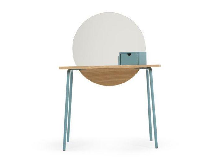la coiffeuse id ale pour se refaire une beaut elle d coration. Black Bedroom Furniture Sets. Home Design Ideas