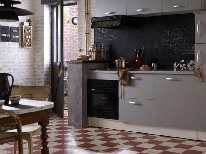 25 astuces pour apporter une touche de couleur votre for Carrelage cuisine rouge