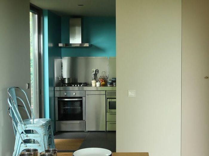 Cuisine bleue (Robert Gervais pour Ressource)