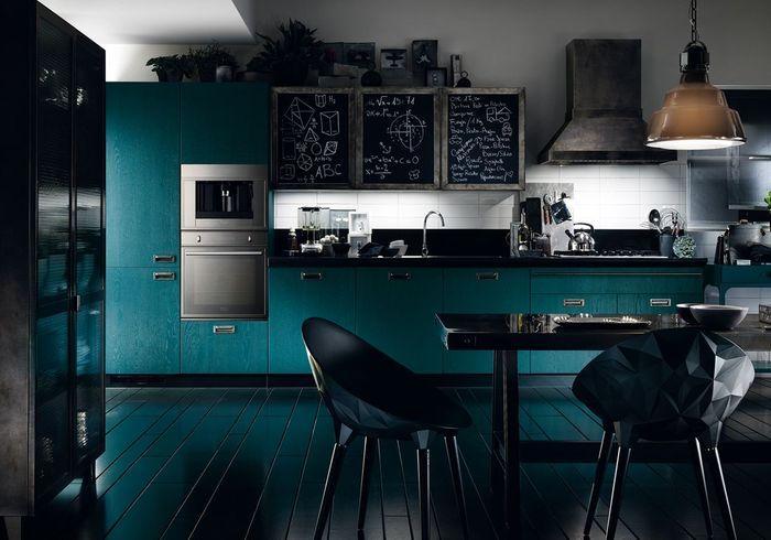Cuisine bleue Scavolini