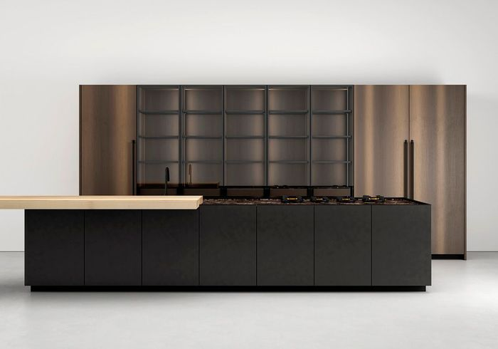 cuisine moderne 25 cuisines contemporaines pour vous. Black Bedroom Furniture Sets. Home Design Ideas