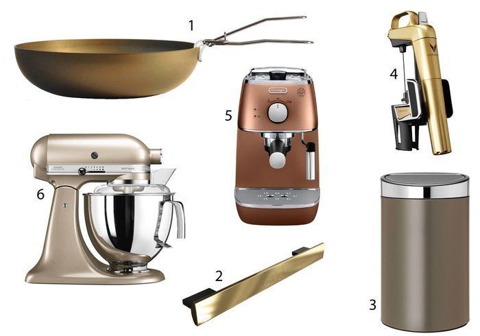La sélection de la rédac pour une cuisine dorée
