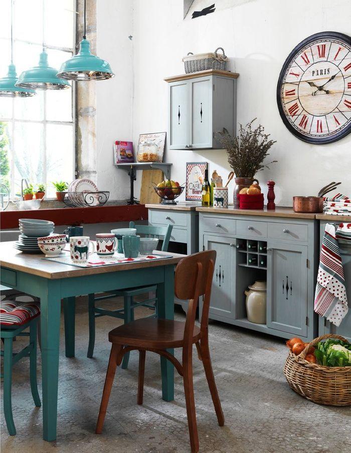 Nos id es pour am nager une belle cuisine vintage elle for Elements de cuisine ouedkniss