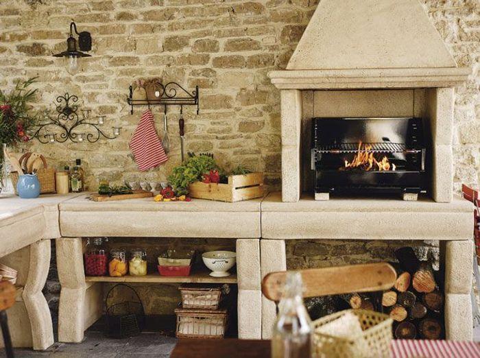 Des cuisines d t pour tous les styles elle d coration - Cuisine exterieure d ete ...