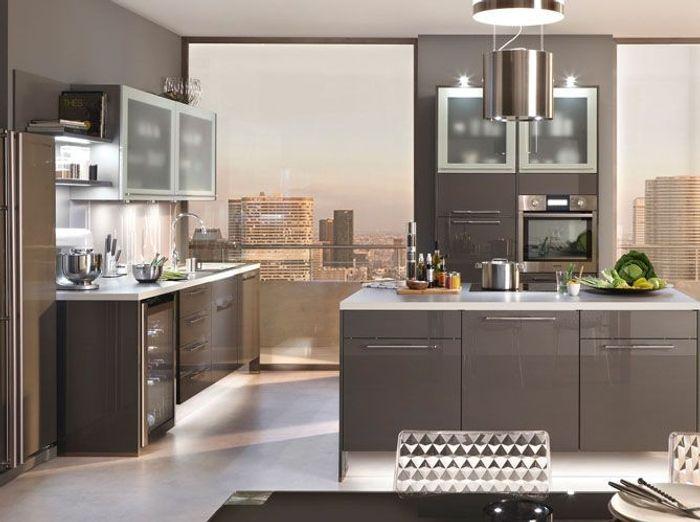 Cuisines design nos mod les pr f r s elle d coration for Design cuisine 3d