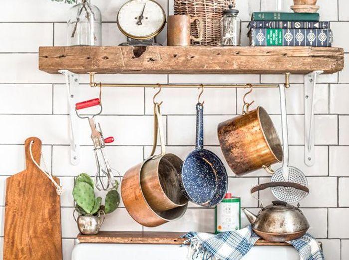 Pariez sur la d co r cup en cuisine elle d coration for Vieux ustensiles de cuisine