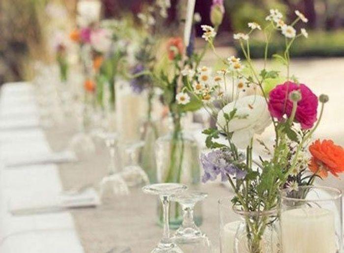 D co de table d 39 anniversaire les meilleures id es rep r es sur pinteres - Deco mariage campagne ...