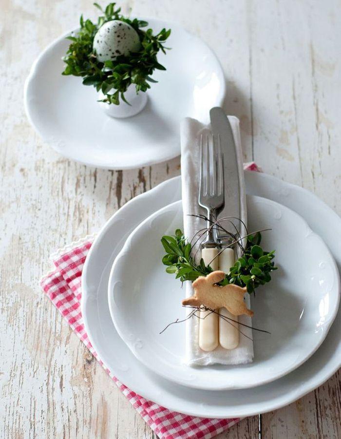 Une déco de table gourmande pour Pâques