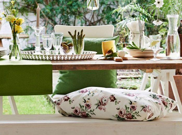 Jouez avec des tons nature sur votre table champêtre