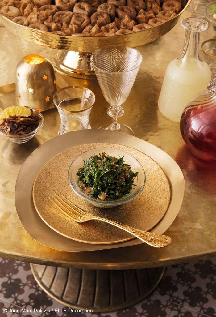 Table de fête orientale : précieuse et magique
