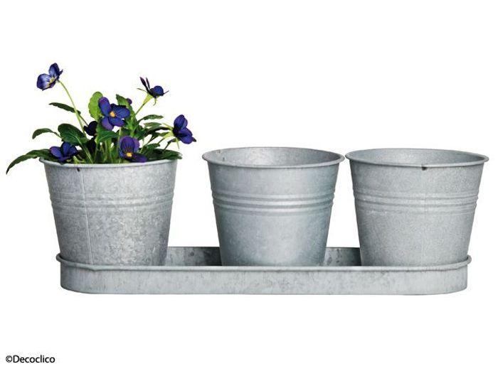 Decoclico pot fleurs