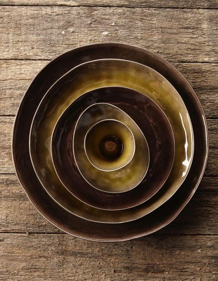 Assiette en céramique Pascale Naessens